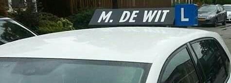 Welkom op de website van Autorijschool M. de Wit.